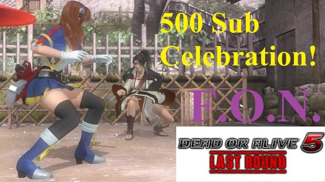 Thanks For the 500 Subs Guys! (Features GG & BB Costumes)