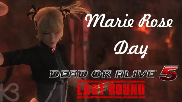 Dead or Alive 5 Last Round - Kesu3n and The Marie Rose Day