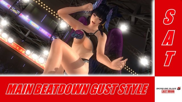Main Beatdown Gust Style - Dead Or Alive 5 Last Round Online Ranked Matches[Mila/Nyotengu]