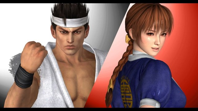 Dead or Alive 5: Last Round (VF3 Styled Intro & Attract Mode)