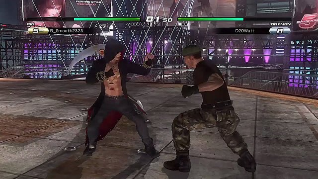 DOA5LR - Dee's Online Arena Matches