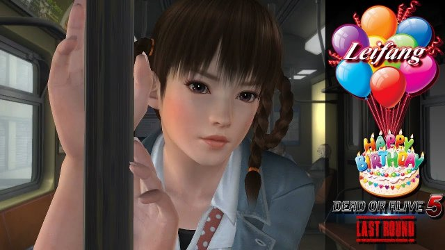 Dead or alive 5 Last Round Happy Birthday Leifang. HD