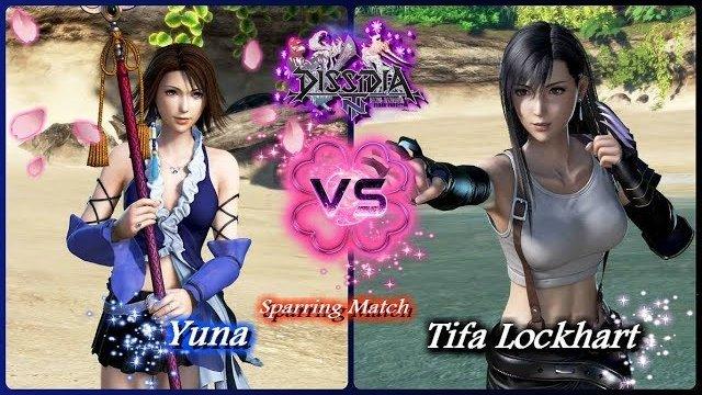 Dissidia Final Fantasy Nt Yuna Vs Tifa Lockhart Hd Free