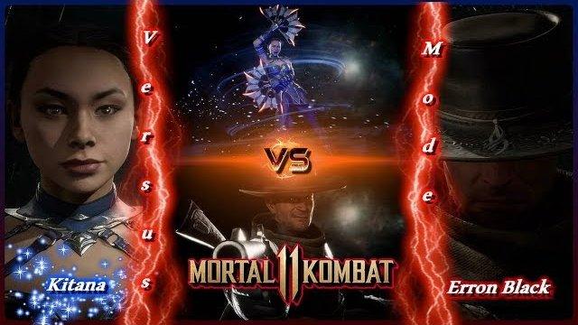 Mortal Kombat 11 Kitana Vs Erron Black Hd Free Step Dodge